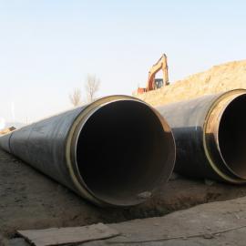 高密度聚乙烯夹克管* 聚乙烯聚氨酯预制保温管