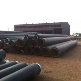 热水预制聚氨酯保温管直埋式保温管厂家