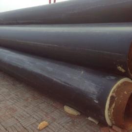 硬质发泡管,预制直埋式聚氨酯夹克管,塑套钢直埋保温管