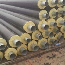 塑套钢直埋式保温管预制聚氨酯泡沫塑料夹克管