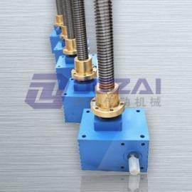 德载SJA50精密方箱螺母运动丝杆升降机