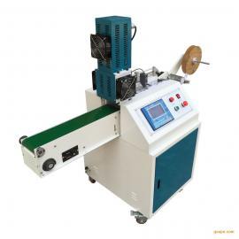 东莞印唛织唛超声波切机,商标唛头超声波切标机