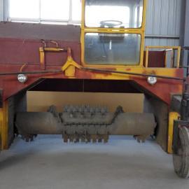 翻堆机有机肥翻堆机鸡粪翻抛机三久机械制造