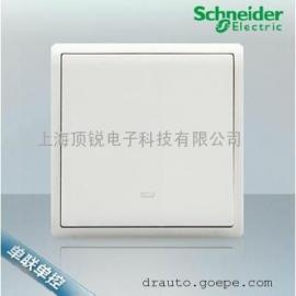 施耐德 �_�P插座面板 �S尚白E8231L2F�温��p控�_�P