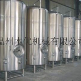 温州本优100L发酵罐 啤酒发酵罐 啤酒酿造设备