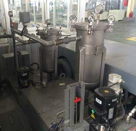摩托车公司RFGL乳液综合过滤装置