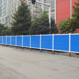 淮安PVC围挡 道路施工封闭式PVC塑钢围挡 龙桥专业生产