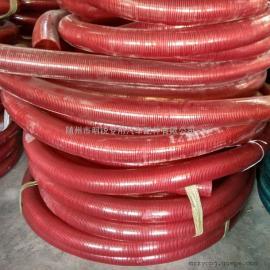PVC透明钢丝增强软管 洒水车抽水管 多种规格可选 颜色可定做