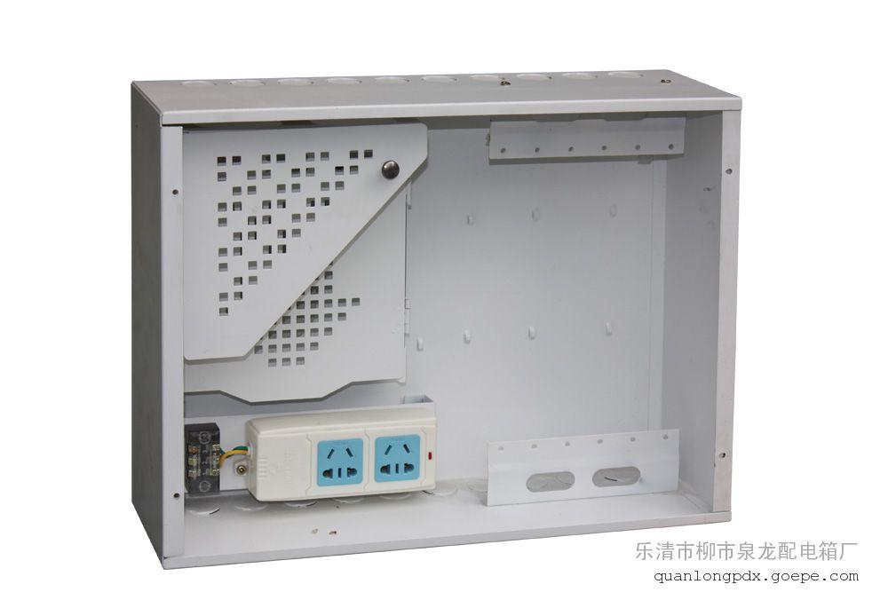 泉龙专业生产光纤入户信息箱塑料面板30*40*10