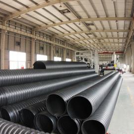 濮阳300钢带聚乙烯排污管,300波纹管