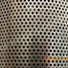 镀锌板冲孔卷板圆孔网|铁皮筛网