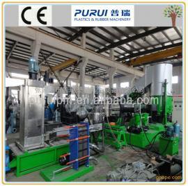 PURUI废塑料回收造粒机 废薄膜塑料回收再生造粒生产线