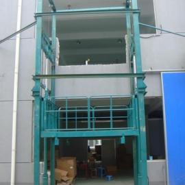 升降货梯厂家 威海市链条升降货梯/导轨式升降货梯