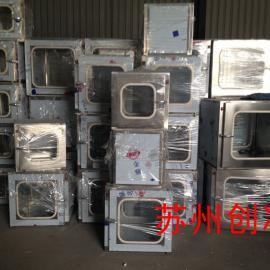 304、201实验室机械互锁不锈钢传递窗传递箱带紫外线杀菌灯传递柜