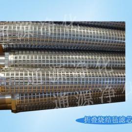专业生产 纤维烧结毡滤芯