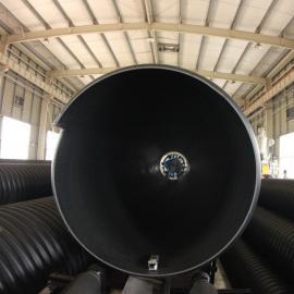 洛阳1米聚乙烯钢带增强波纹管厂家