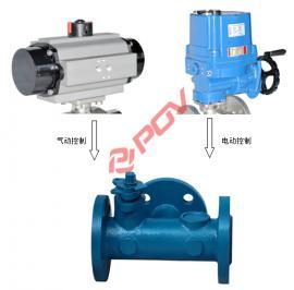 焦化炉专用三通球阀 可配电动或气动执行器