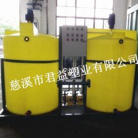 秦皇岛耐酸碱PE搅拌桶 洗洁精搅拌桶1立方