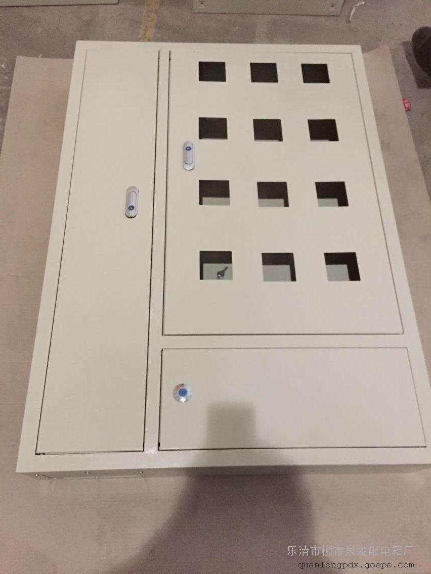 泉龙专业生产三个门电表箱明装暗装6表位