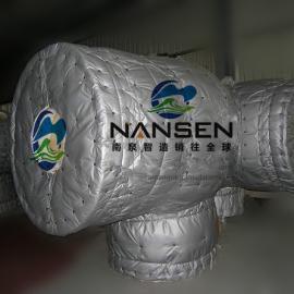 纯化系统保温罩空气纯化设备易拆装可检修柔性保温套