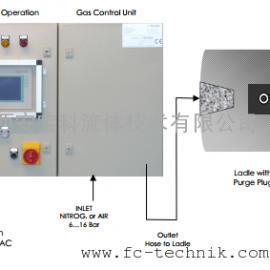 RH真空槽上升管透气性测试系统