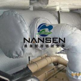 泵阀保温套泵易拆装可重复使用节能保温罩