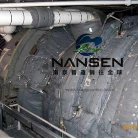南泉专业生产汽轮机等异形件可拆装可检修柔性节能保温被