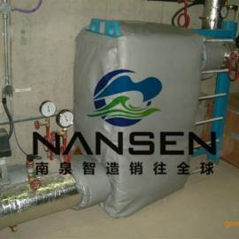 加热箱体加热管加热环等可拆装可检修柔性保温聚能环