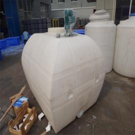 玉环3吨耐强酸强碱运输罐,黄岩3立方PE卧式水箱批发