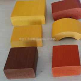 30*55棕红色(板栗色)塑木条批发