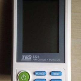 TES5321桌上型PM2.5空�赓|量�z�y�x