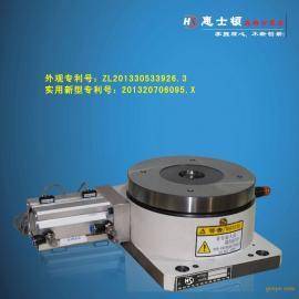 分度盘代理 深圳300H增强型旋转气动分度盘厂家直销