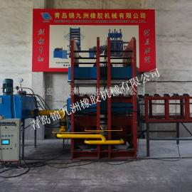 2000T导热油加热硫化机锦九洲液压全自动平板硫化机价格