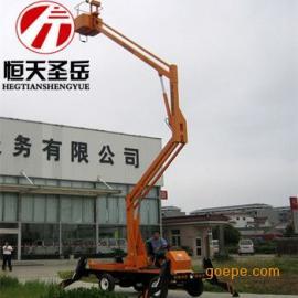 武汉曲臂式升降平台,液压升降机、高空作业车12米