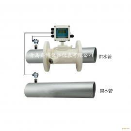 空调水热水流量计 管道式外夹式超声波流量计 热量表