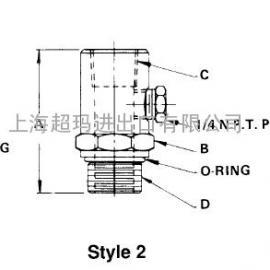 真空泵过滤器转换接头 14157 14158