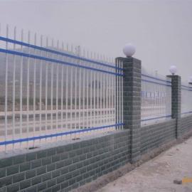 光宇专业生产锌钢免维护护栏欧式铁艺围栏草绿色锌钢栅栏