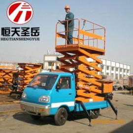 上海 ��d式升降�C ��由�降�C 液�荷�降�C 高空作�I平�_8米