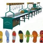 PVC滴塑鞋底流水线