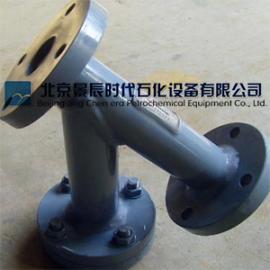 电厂用PVC-Y型过滤器 防腐型PVC-Y型过滤器