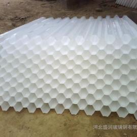 北京安全五金斜管边角料 六角分蜂斜管边角料 堆积池PP斜管边角料
