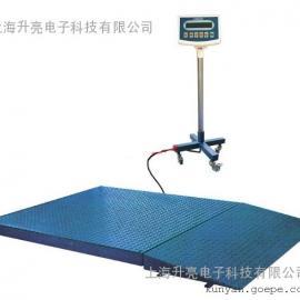 上海耀华5吨带斜坡电子地磅