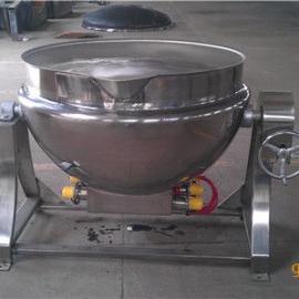 电加热可倾夹层锅, 不锈钢夹层锅不糊锅