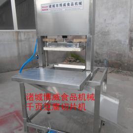 高效率切割鱼豆腐的机器