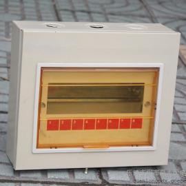 泉龙专业生产小型明装暗装PZ30配电箱-12回路