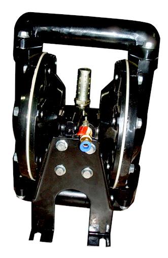 永嘉隔膜泵QBY-25铝合金气动印刷机溶剂泵