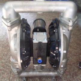 浙江长兴溶剂qgb-50不锈钢气动隔膜泵价格