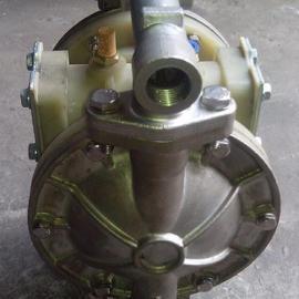 浙江永康QBY-20不锈钢气动菜油大豆油隔膜泵厂家低价