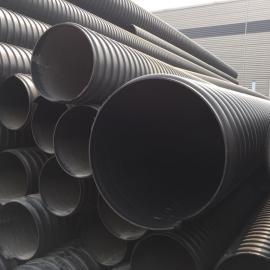 400钢带聚乙烯排污管价格,聚乙烯波纹管