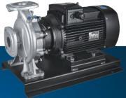 不锈钢卧式冷热水管道增压泵